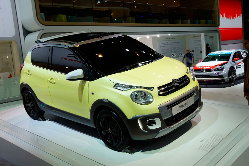 CITROEN C1 Urban Ride concept concept-car 2015