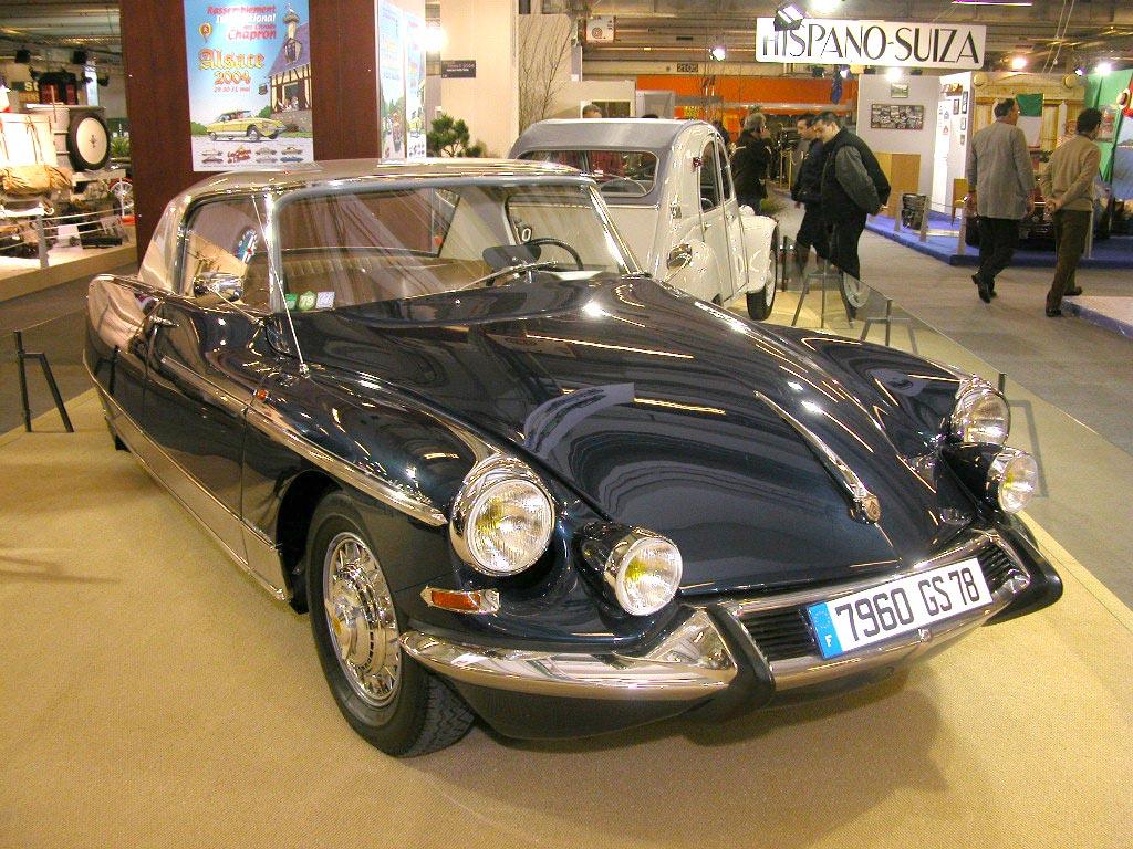 Photo CITROEN DS 21 coupé 1967