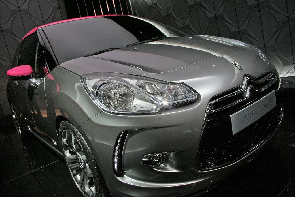 Photo Citroen Ds Inside Concept Concept Car 2009 Mdiatheque