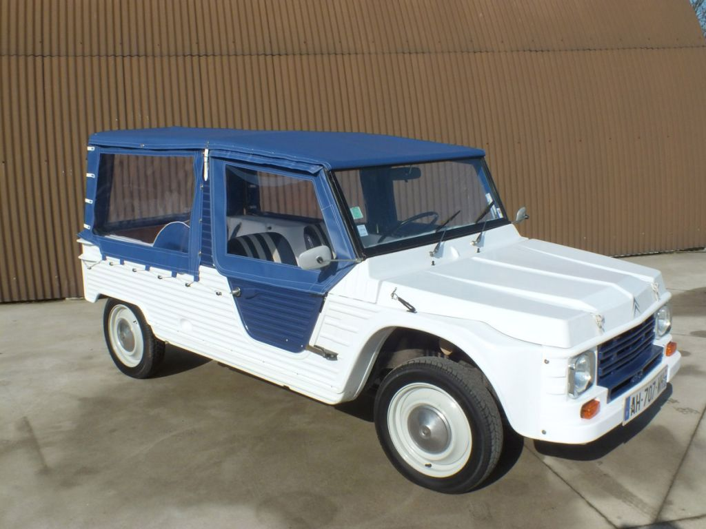 Photo Citroen Mehari Cabriolet 1980 M 233 Diatheque