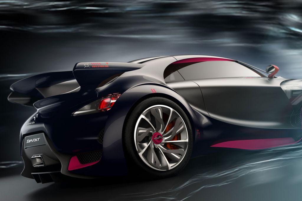 CITROEN SURVOLT Concept concept-car 2010