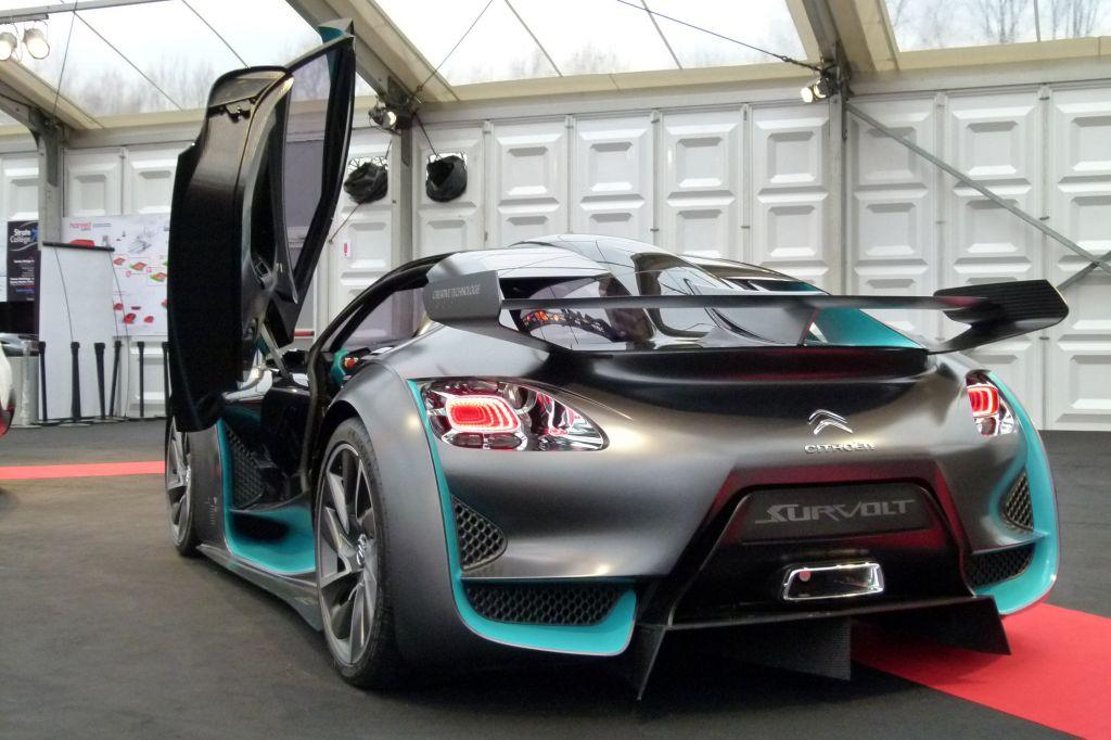 Photo Citroen Survolt Concept Concept Car 2010
