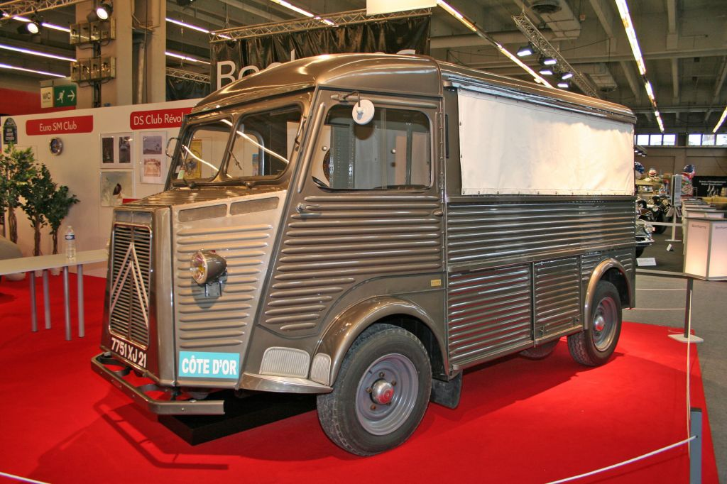 photo citroen type h monospace 1951