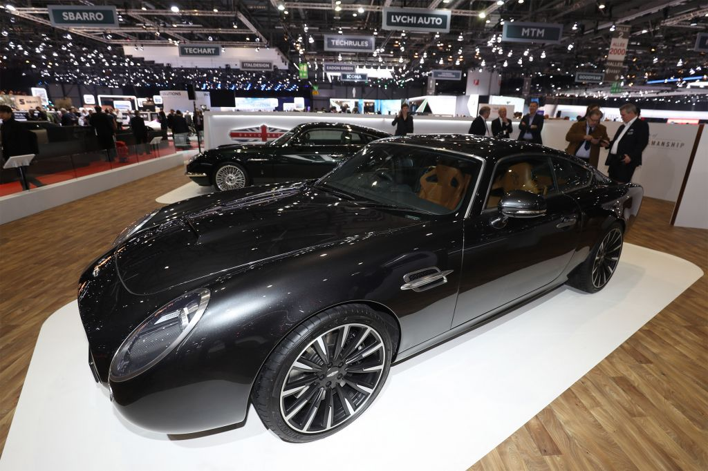 DAVID BROWN SPEEDBACK GT Silverstone Edition coupé 2018