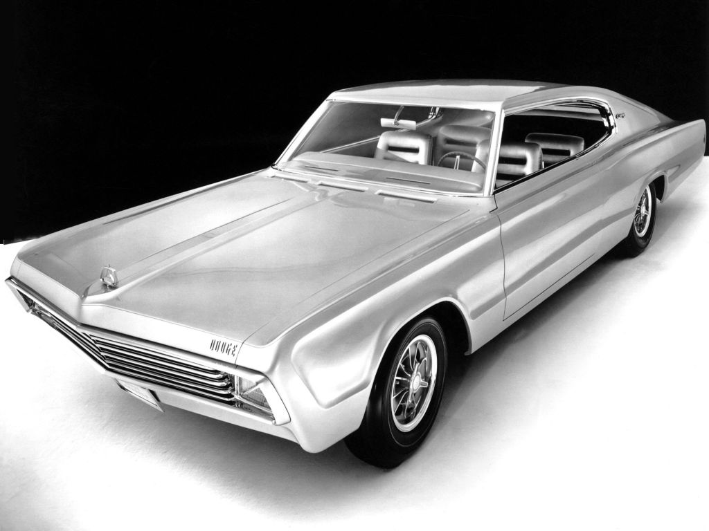 DODGE CHARGER (II) Concept concept-car 1965