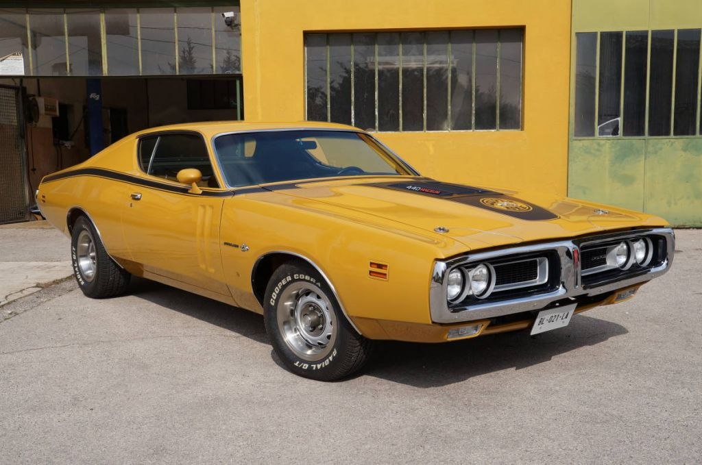 DODGE CHARGER (II) Super Bee coupé 1971