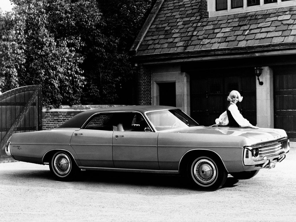DODGE POLARA (IV)  berline 1971