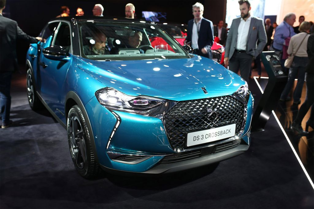 DS 3 CROSSBACK  SUV 2018