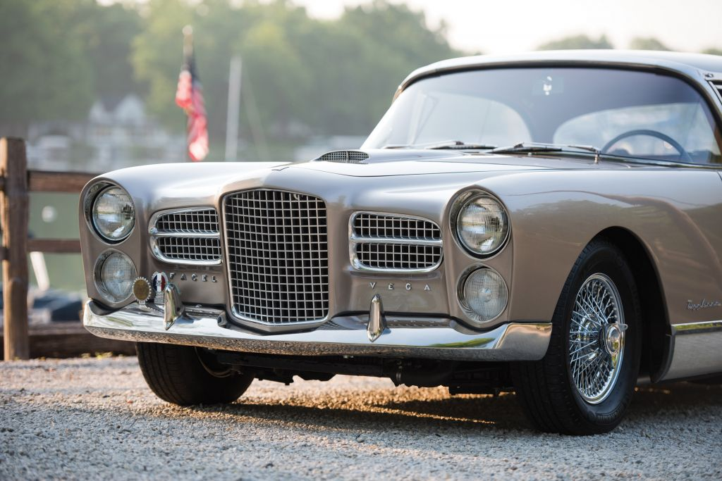 FACEL VEGA FV4  coupé 1958