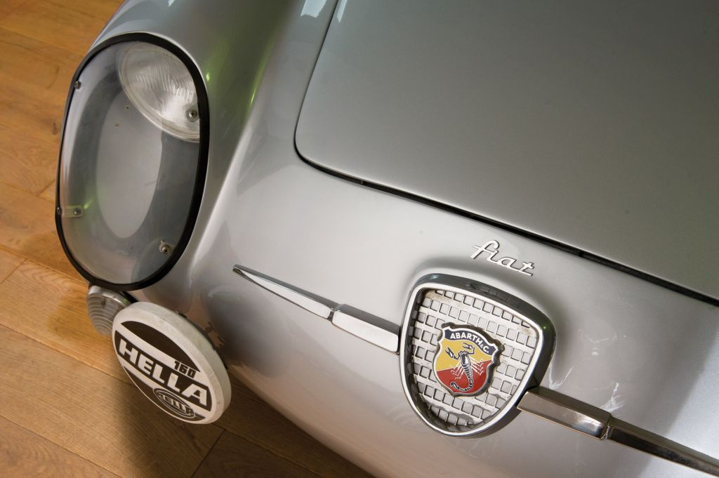 FIAT ABARTH 750 GT Double Bubble compétition 1958