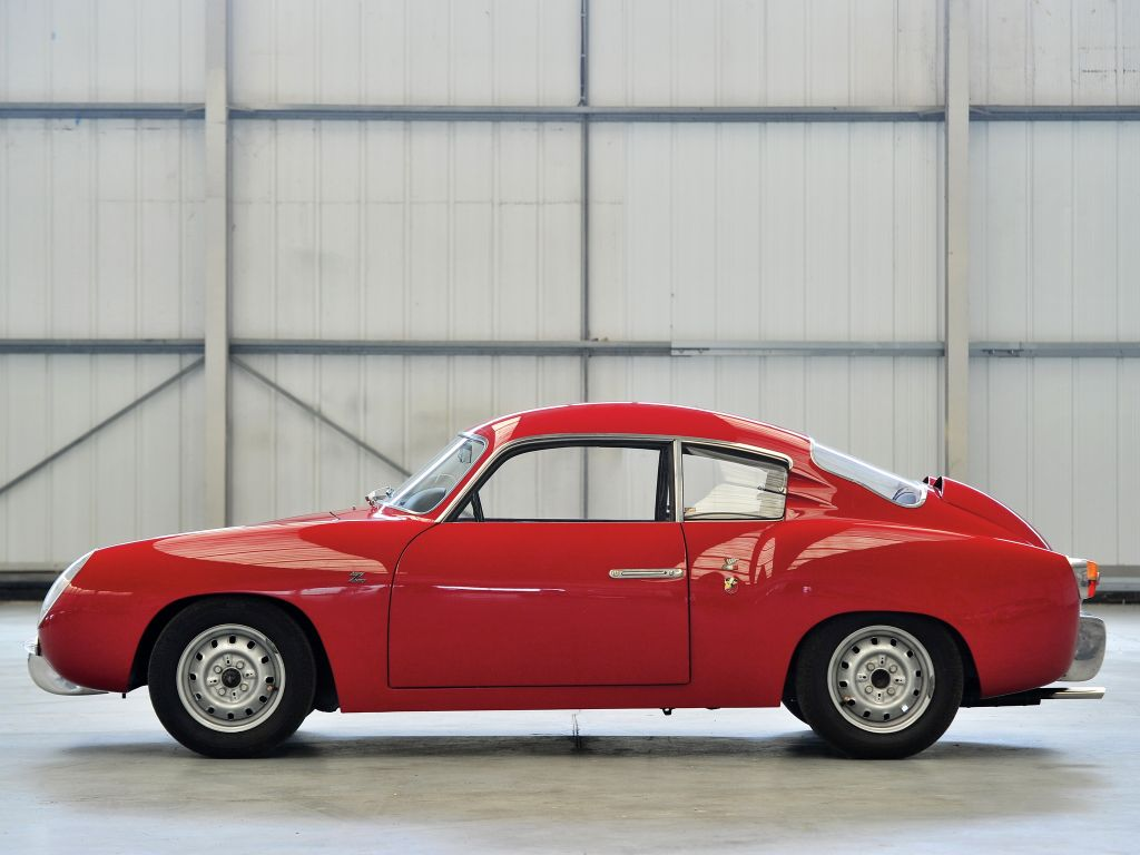 FIAT ABARTH 750 GT Double Bubble compétition 1956