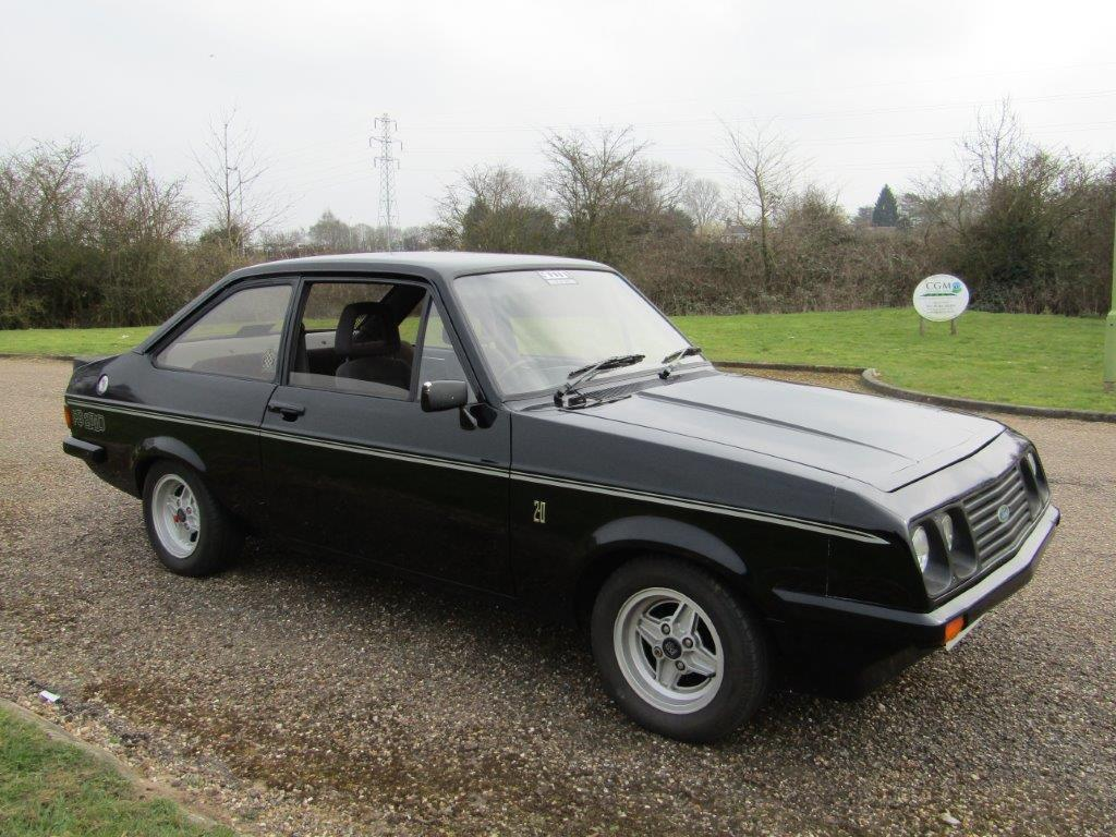 FORD ESCORT (Mk II) 2000 RS 110 ch coupé 1977