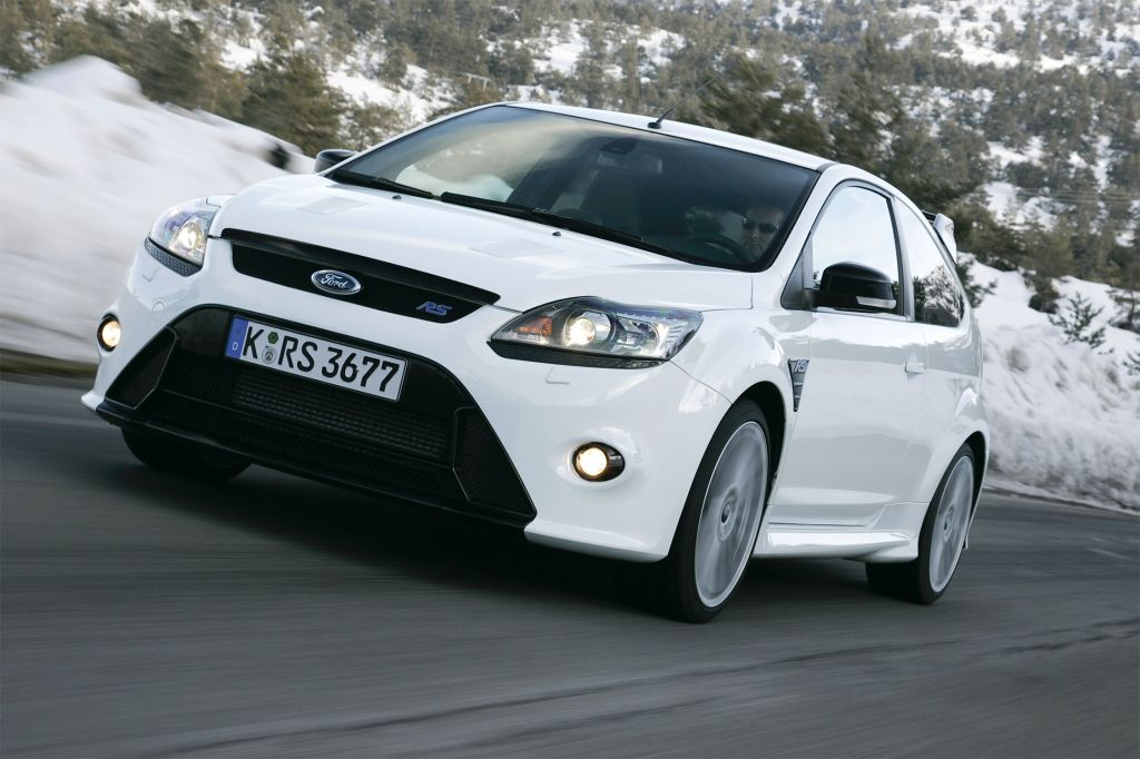 FORD FOCUS (II) RS 2.5 T 305ch coupé 2009