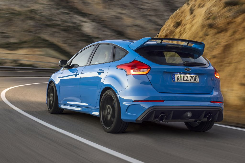 Janvier : Ford Focus RS