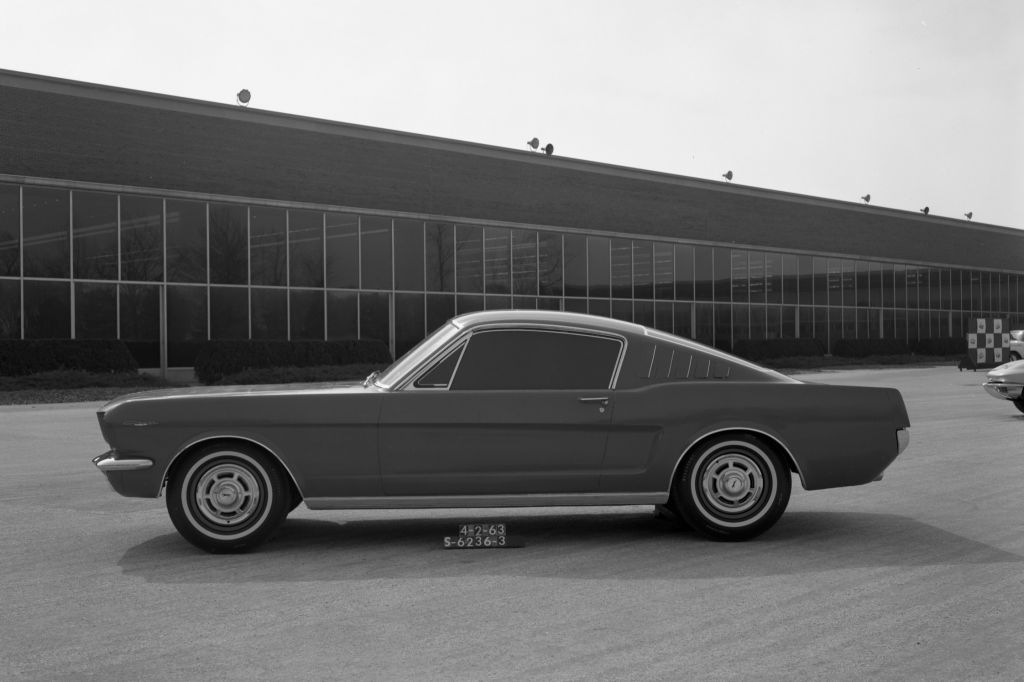 Maquette Ford Mustang Fastback (avril 1963)