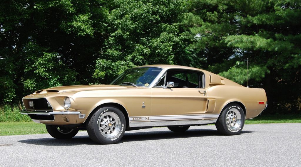 FORD MUSTANG I (1964-73) Shelby GT350 coupé 1968