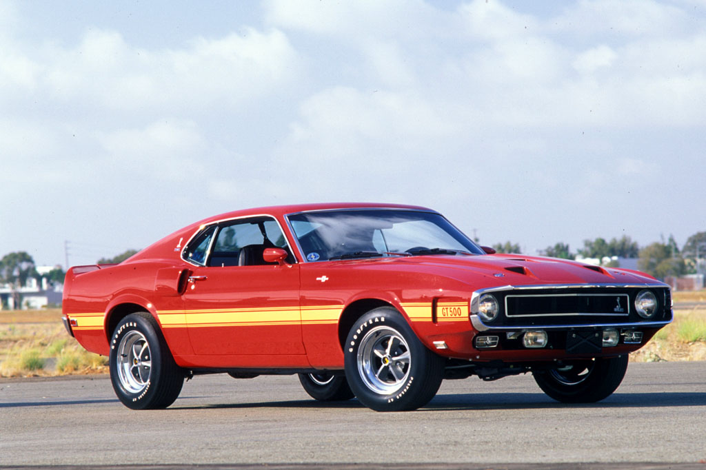 Photo FORD MUSTANG I (1964-73) Shelby GT500 coupé 1969