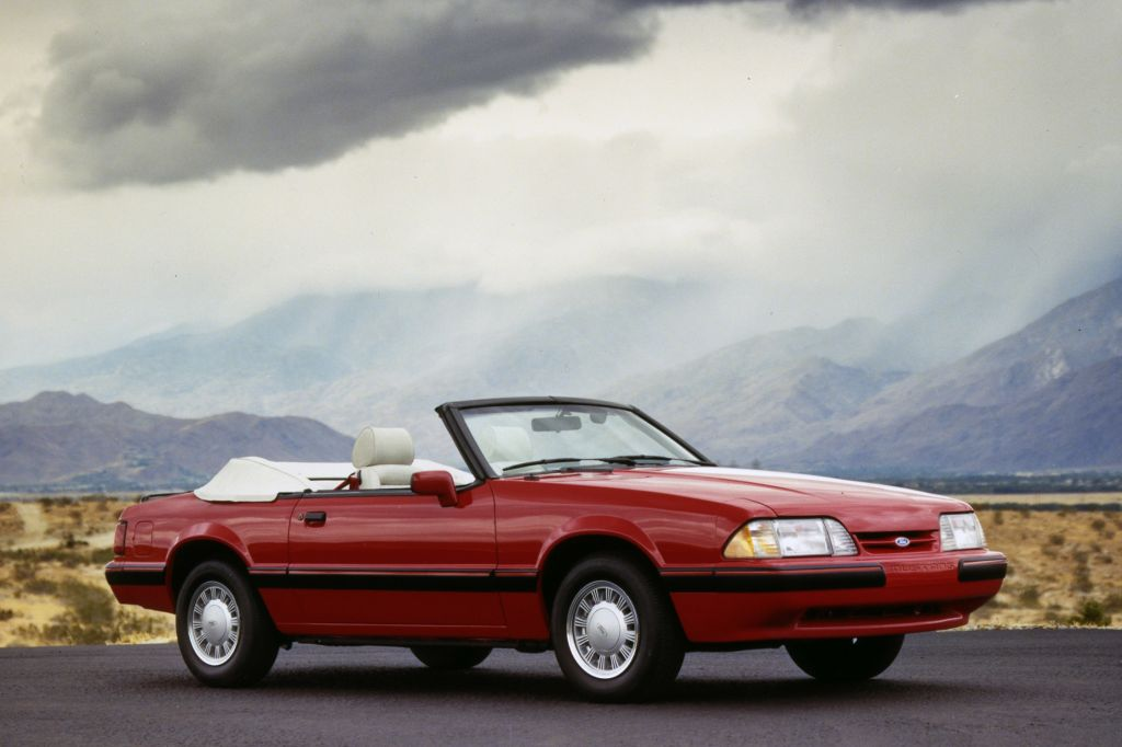 Ford Mustang III Cabriolet (1989)