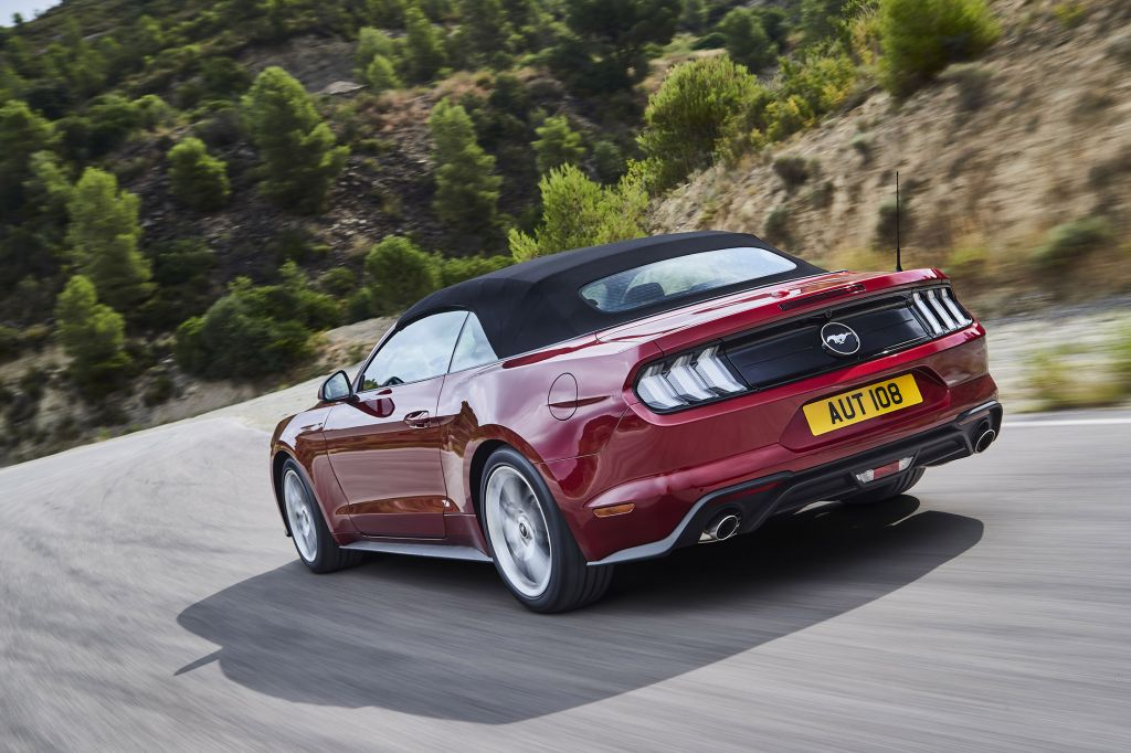FORD MUSTANG VI (2015 - ...) GT 450 ch cabriolet 2018