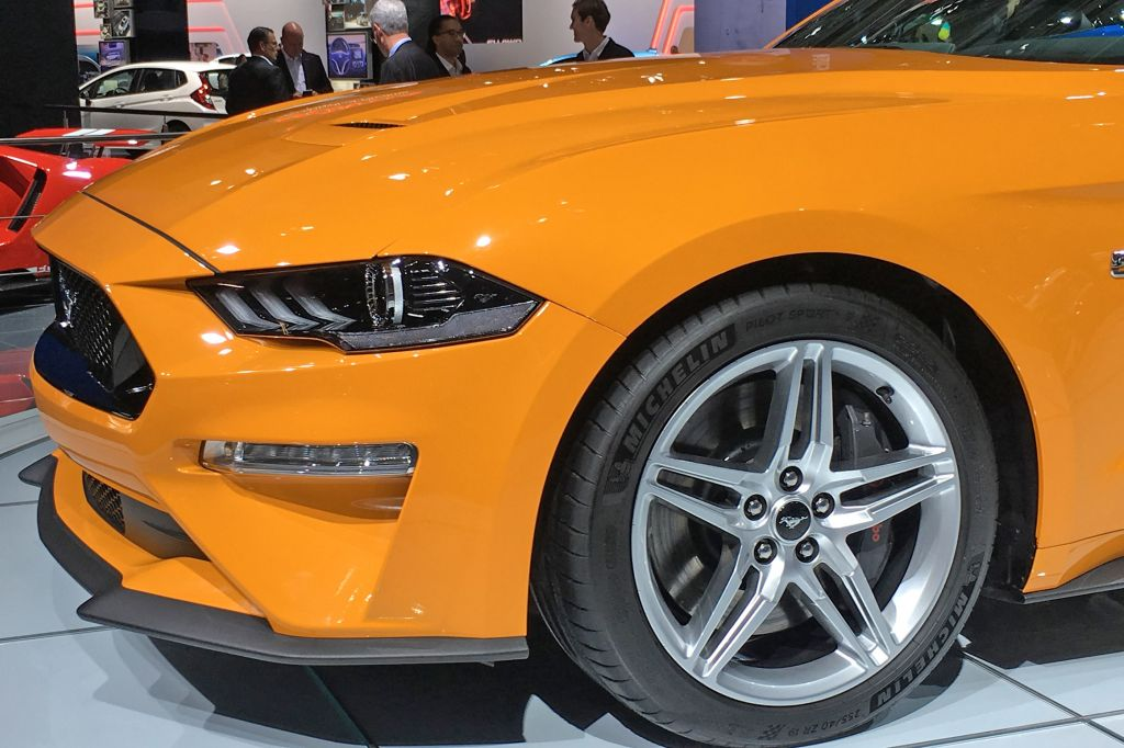 FORD MUSTANG VI (2015 - ...) GT 450 ch coupé 2018