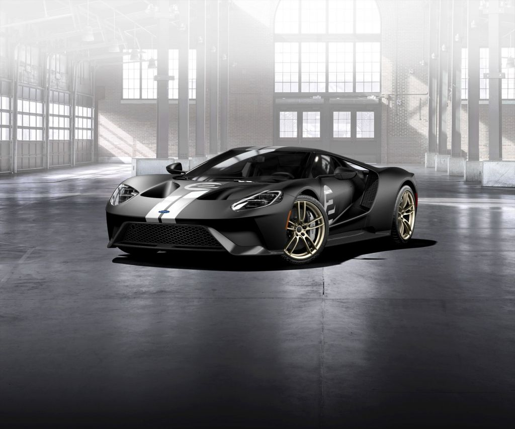 FORD USA GT (II) 66 Heritage Edition coupé 2017
