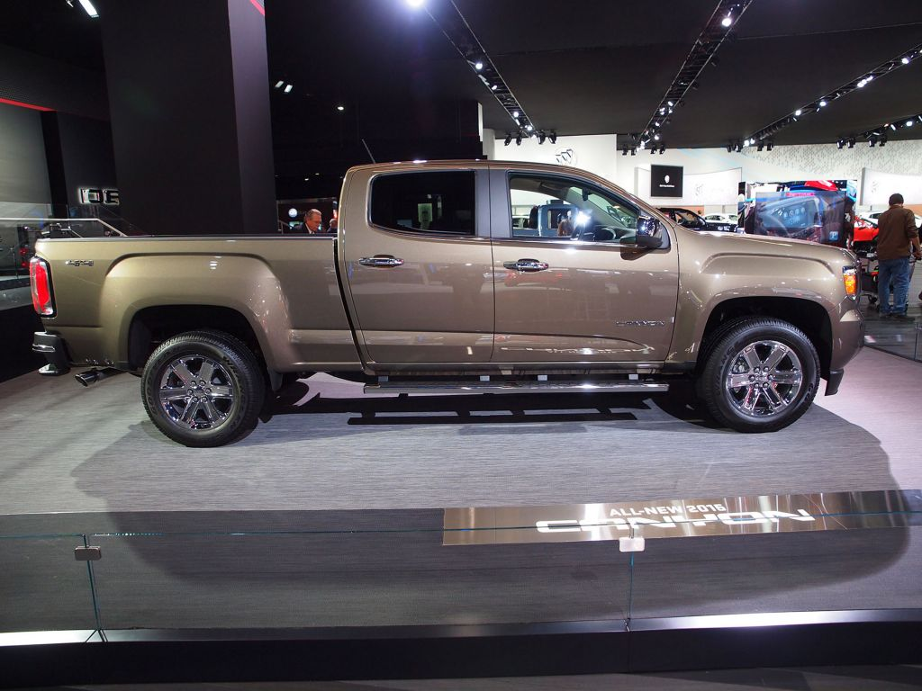 GMC CANYON  pick-up 2014