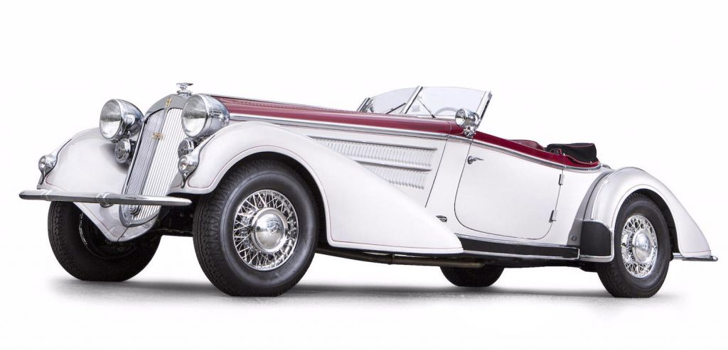 HORCH 853 Spezialroadster cabriolet 1937