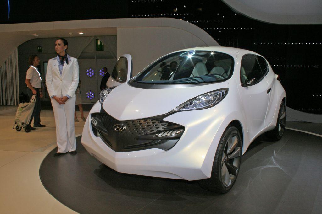 2009 Hyundai Ix Metro Concept. Photo HYUNDAI IX-METRO Concept