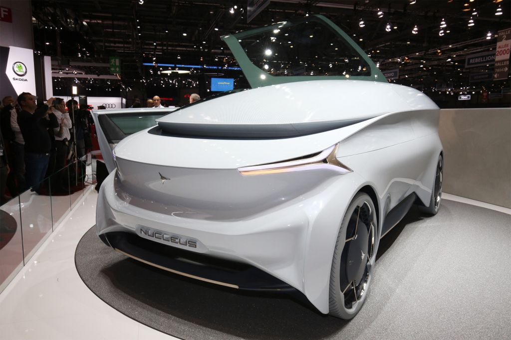 ICONA NUCLEUS  concept-car 2018