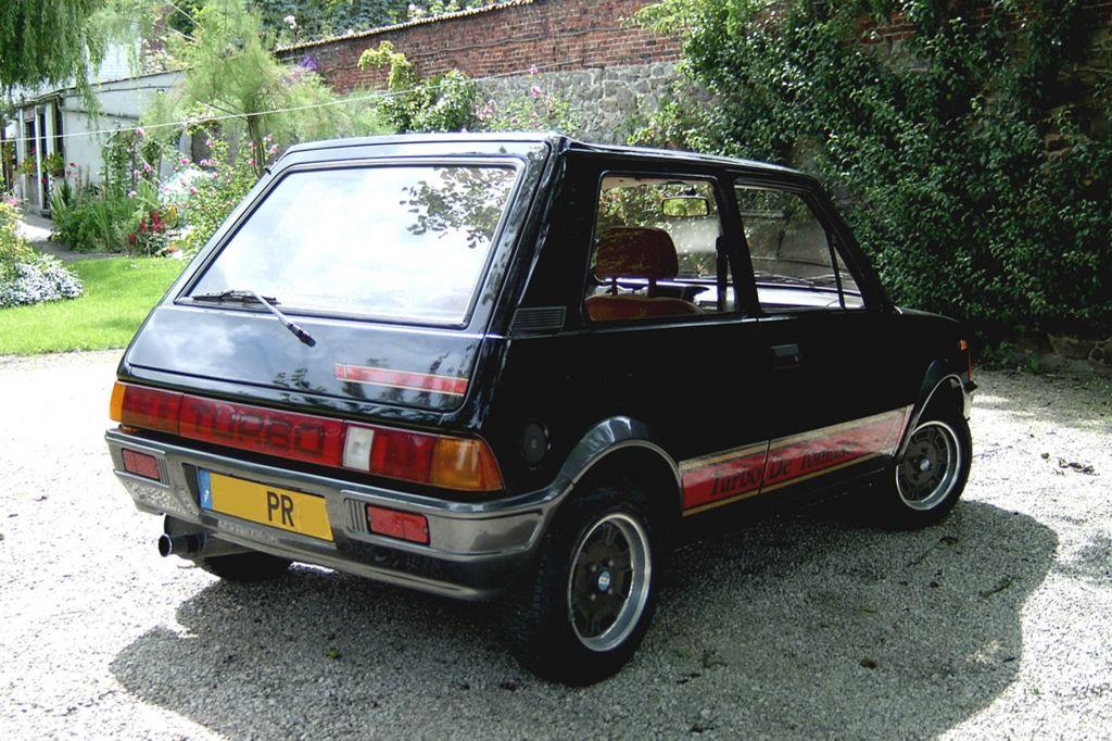 Innocenti De Tomaso Turbo 1983 Gti Et Compagnie