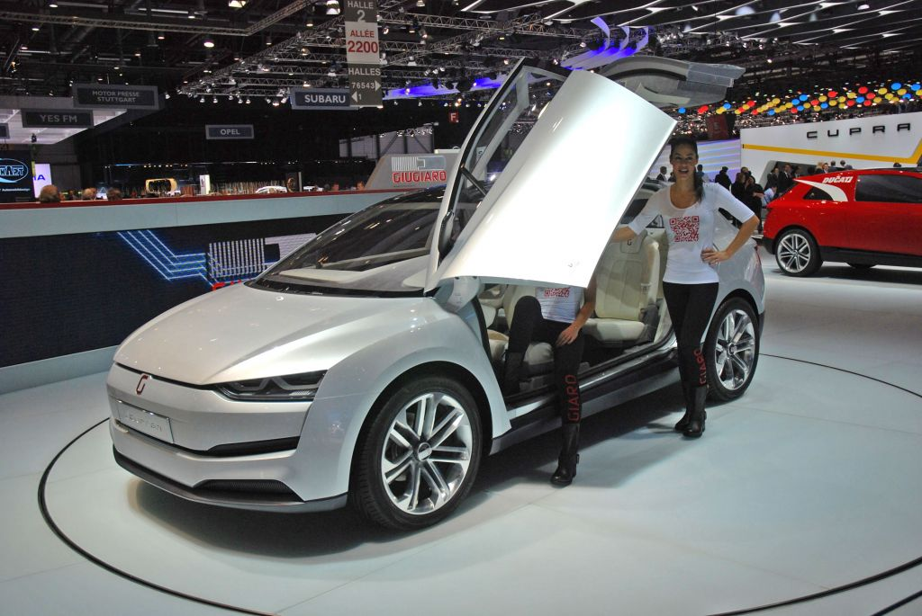 ITAL DESIGN CLIPPER Concept concept-car 2014