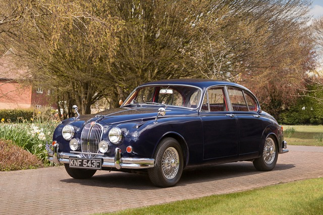 JAGUAR MARK 2 340 berline 1968