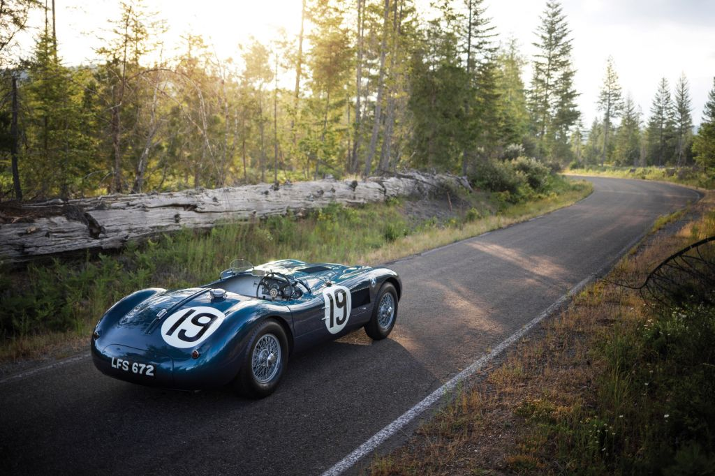 9e : Jaguar Type C Works Lightweight (1953) : 11,8 millions d'euros