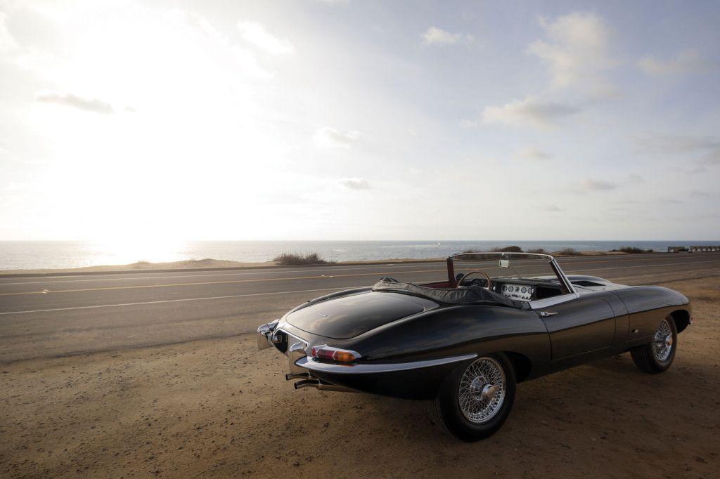 photo JAGUAR TYPE E Série 1 3.8L cabriolet 1961 - Motorlegend.com