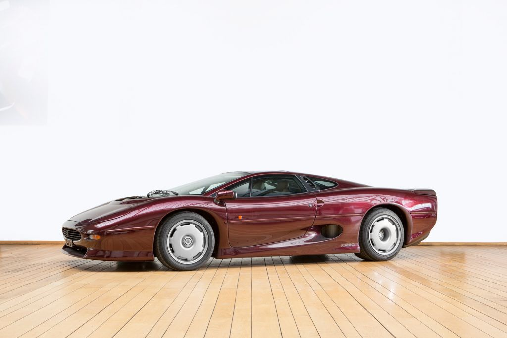 JAGUAR XJ220 3.5 V6 Turbo coupé 1992