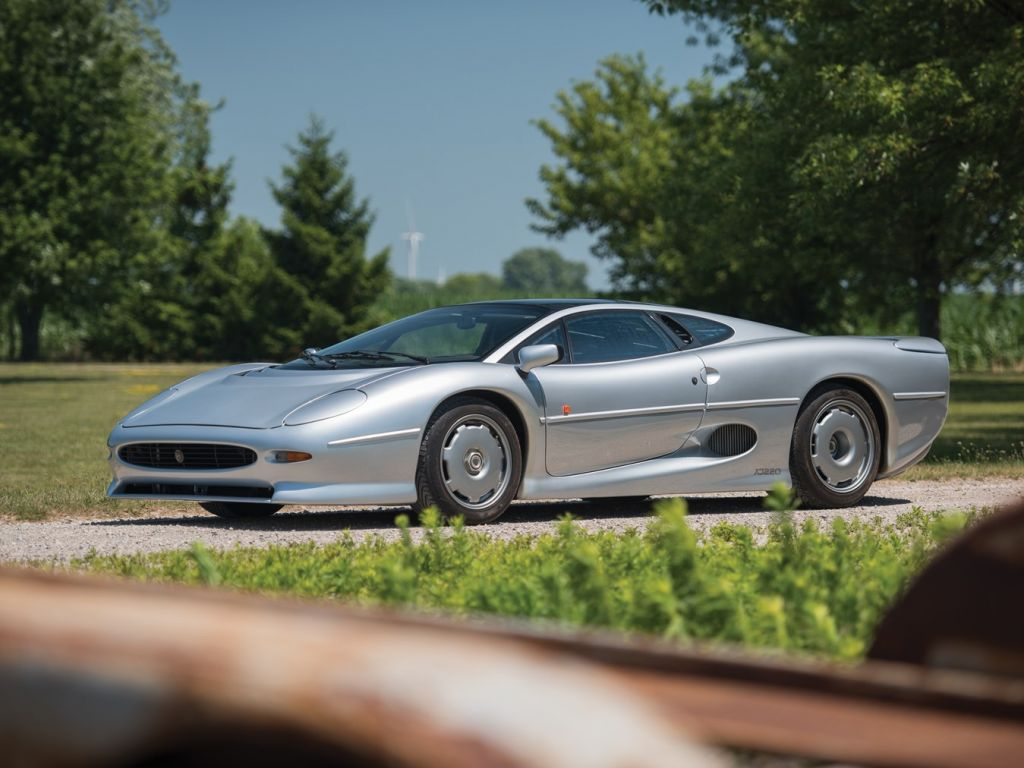 JAGUAR XJ220 3.5 V6 Turbo coupé 1993