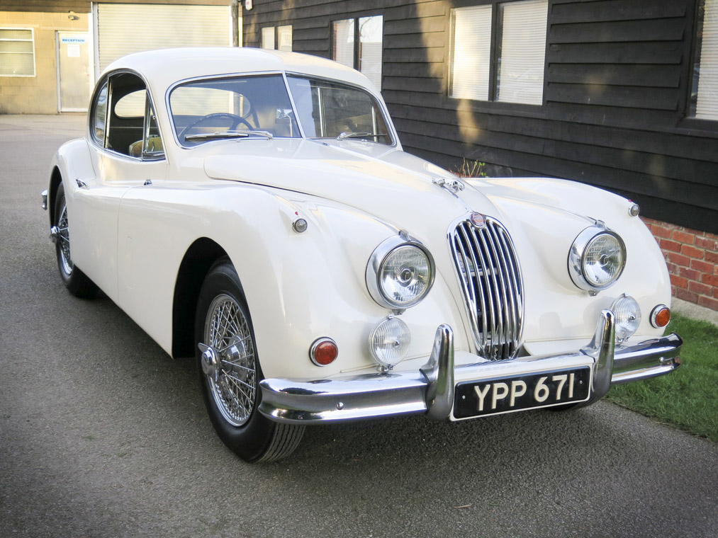 JAGUAR XK140 3.4 coupé 1956