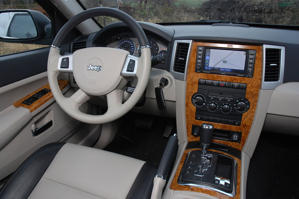 photo jeep grand cherokee 3 3 0 crd v6 218ch 4x4 2007 m diatheque. Black Bedroom Furniture Sets. Home Design Ideas