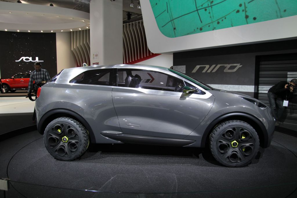 photo kia niro concept concept car 2013 m diatheque. Black Bedroom Furniture Sets. Home Design Ideas