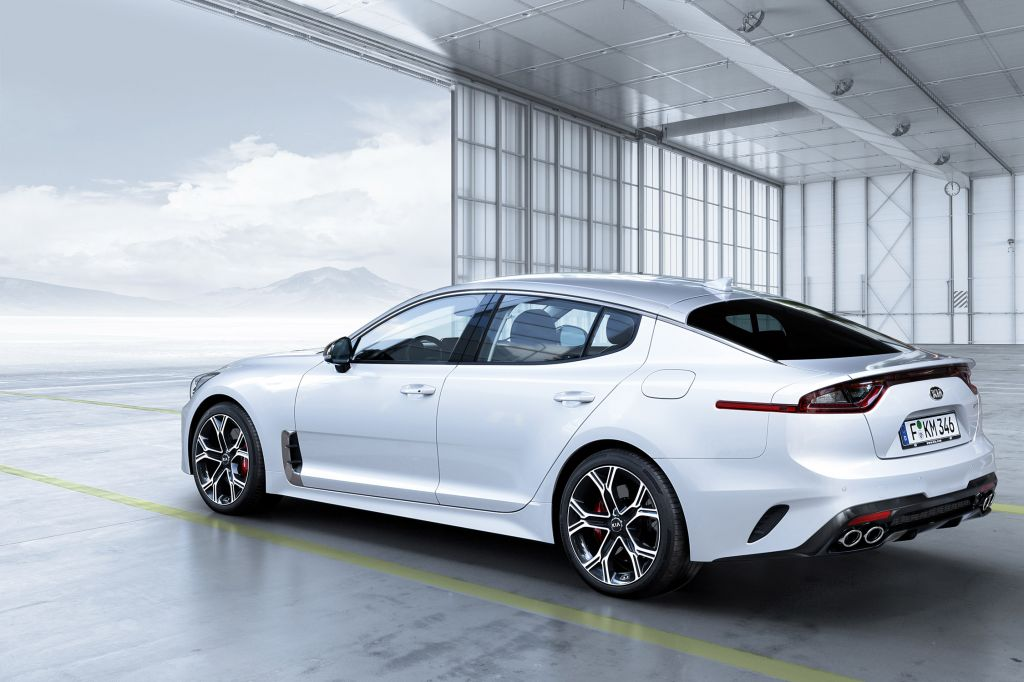 KIA STINGER  berline 2017