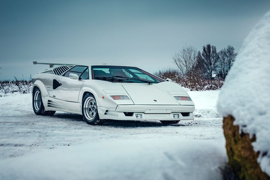 LAMBORGHINI COUNTACH 25th Anniversary coupé 1991