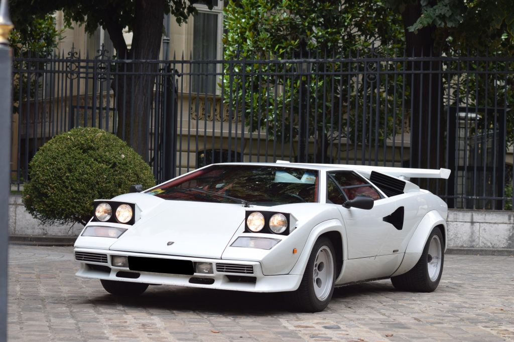 LAMBORGHINI COUNTACH LP 5000S coupé 1985
