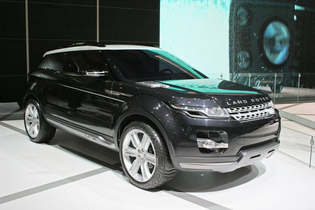 Range Rover Velar >> Photo LAND ROVER LRX Concept concept-car 2008 ...