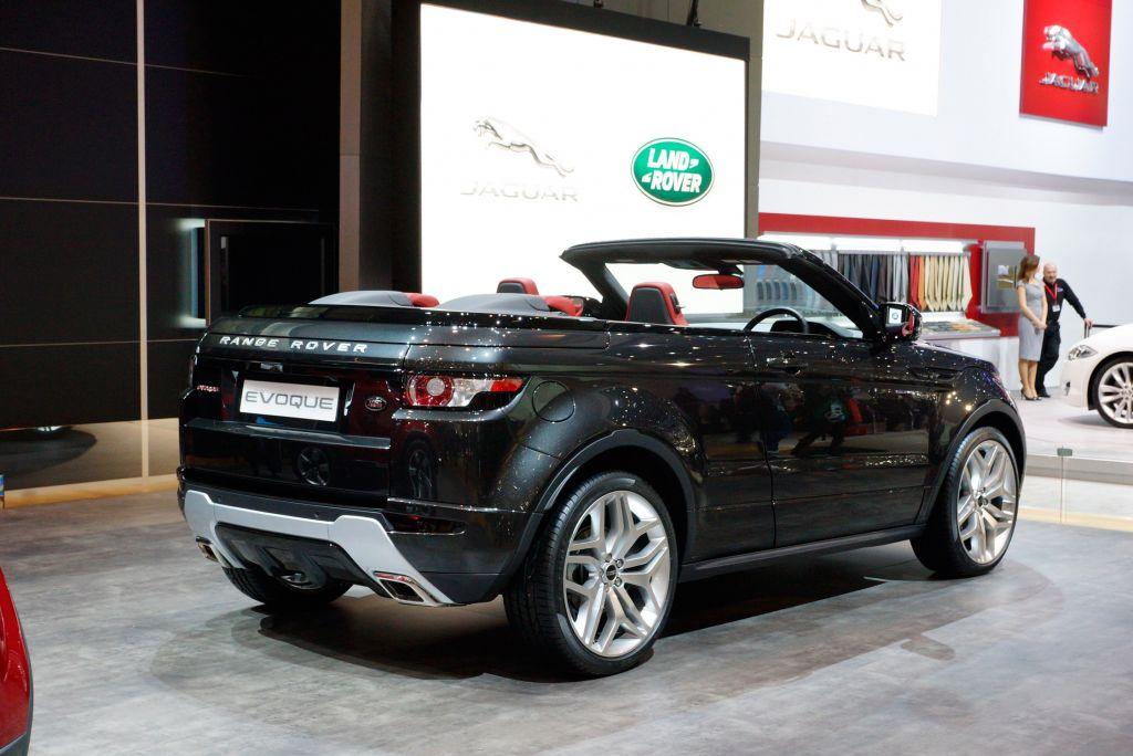 Photo Land Rover Range Rover Evoque Cabriolet Concept