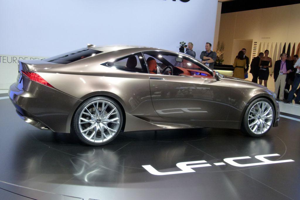 photo lexus lf cc concept concept car 2012 m diatheque. Black Bedroom Furniture Sets. Home Design Ideas
