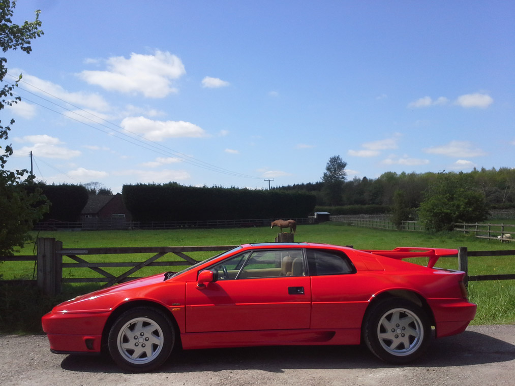 LOTUS ESPRIT Turbo SE coupé 1992