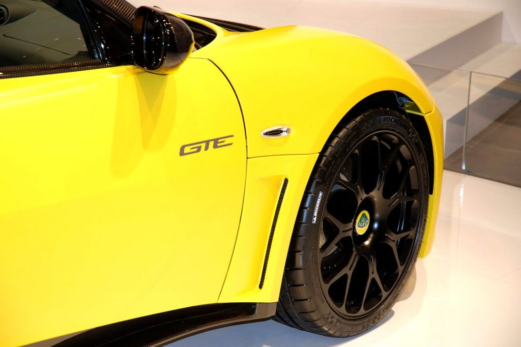 LOTUS EVORA GTE coupé 2011