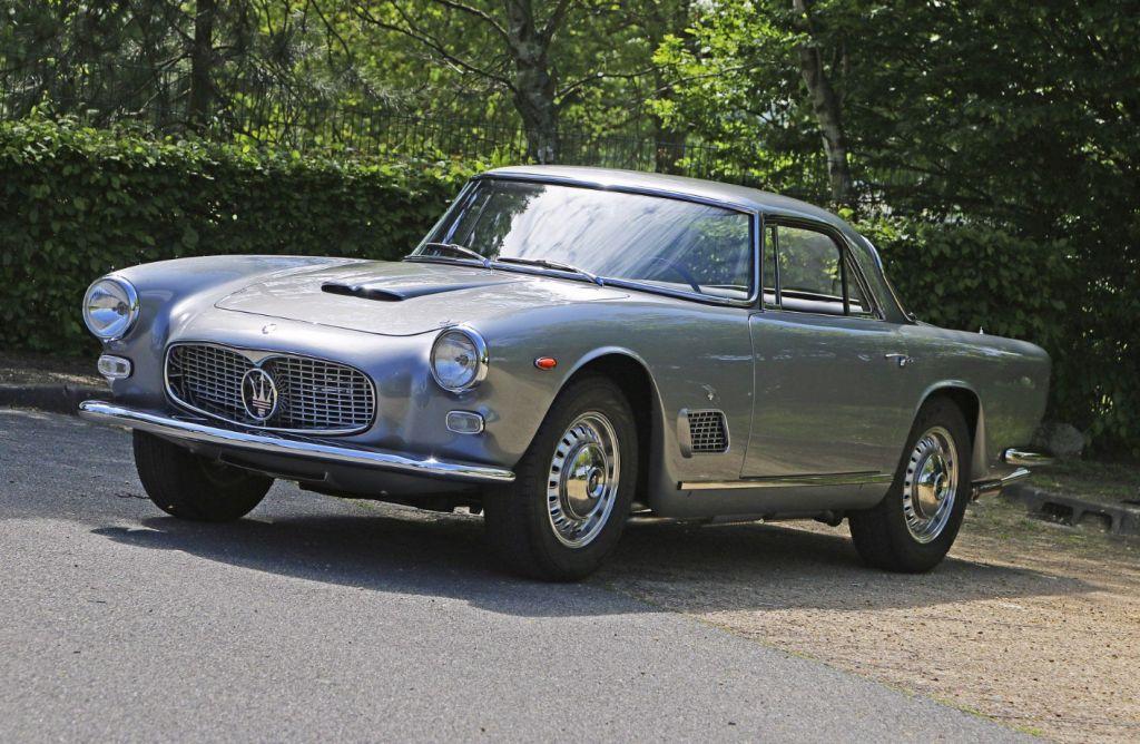 photo MASERATI 3500 GT coupé 1963 - Motorlegend.com