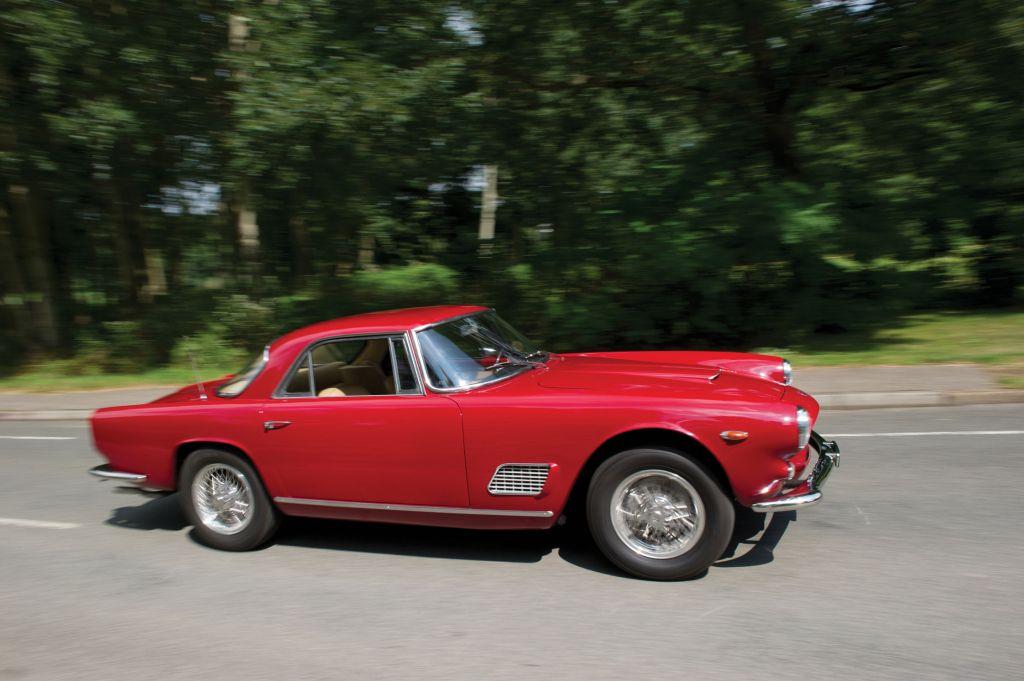 photo MASERATI 3500 GTi coupé 1963 - Motorlegend.com