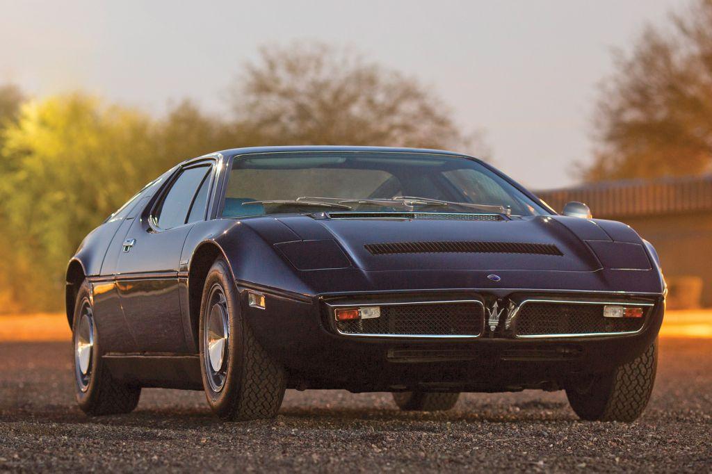 photo MASERATI BORA V8 4.9 330 ch coupé 1975 - Motorlegend.com
